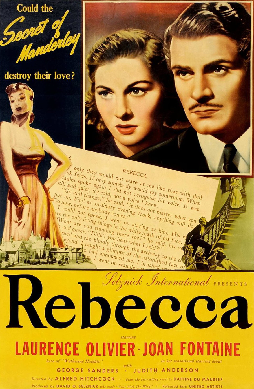 """english essays hitchcock movie of rebecca Back in 1952 when the british film institute's magazine sight  essay """" hitchcock and feminist criticism: from rebecca to marnie"""" and."""
