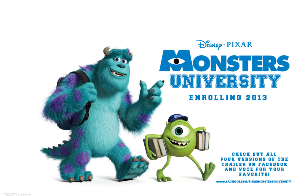 Movie Review Monsters University 2013 Bored And Dangerous