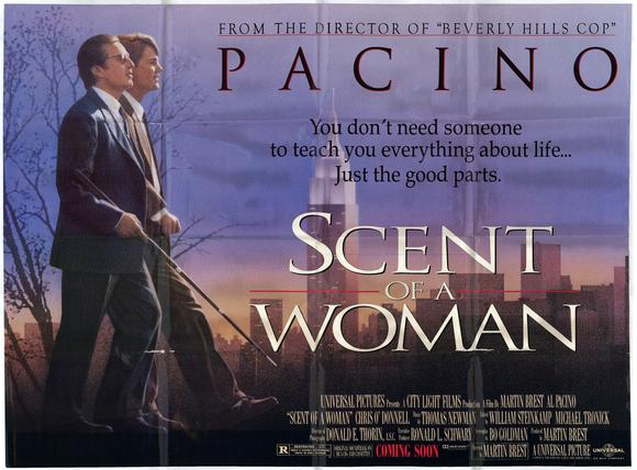 Movie Review Scent Of A Woman 1992 Bored And Dangerous