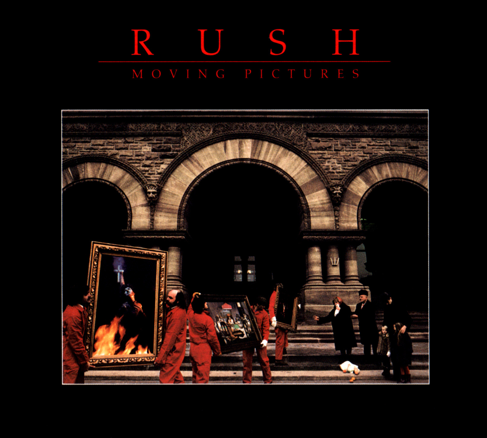 Music review rush moving pictures 1981 bored and dangerous - Rush album covers ...