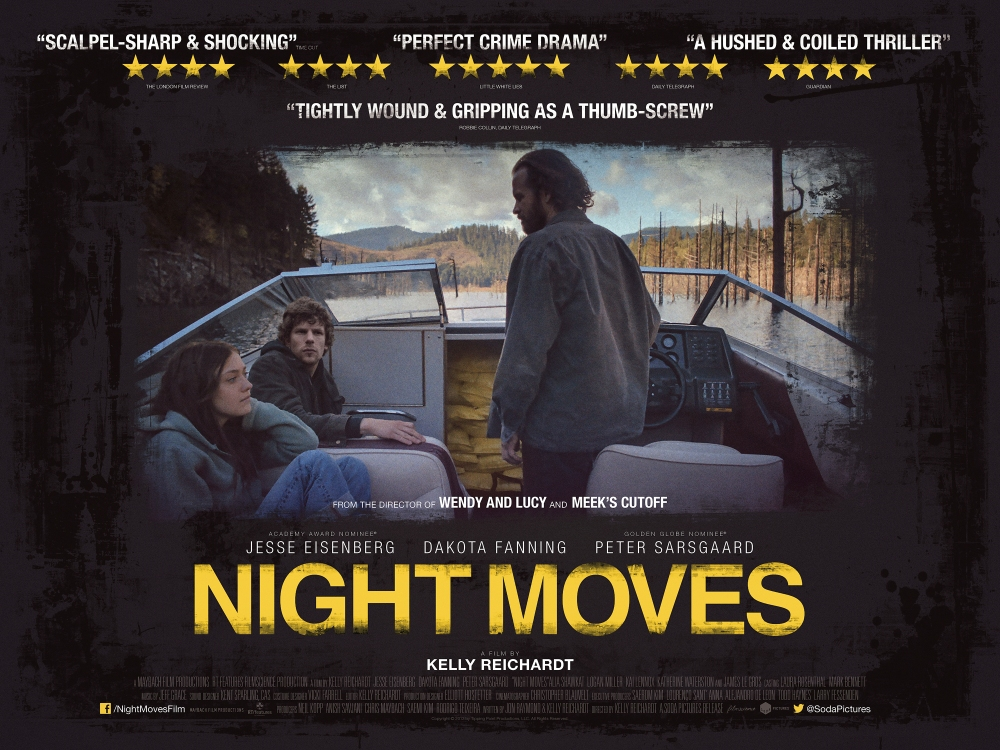MOVIE REVIEW | Night Moves (2013) – Bored and Dangerous