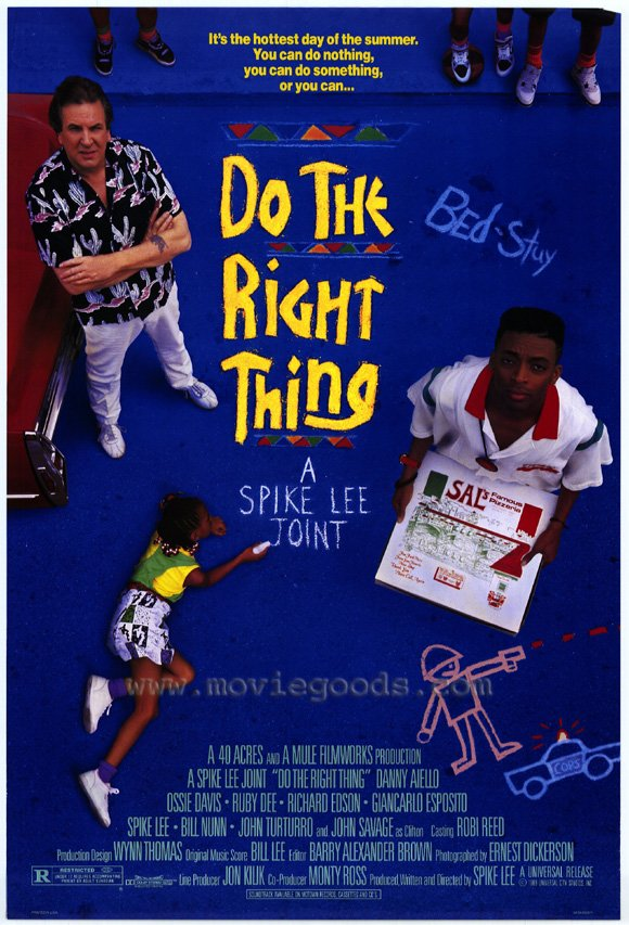 movie review afi weekend do the right thing  do the right thing