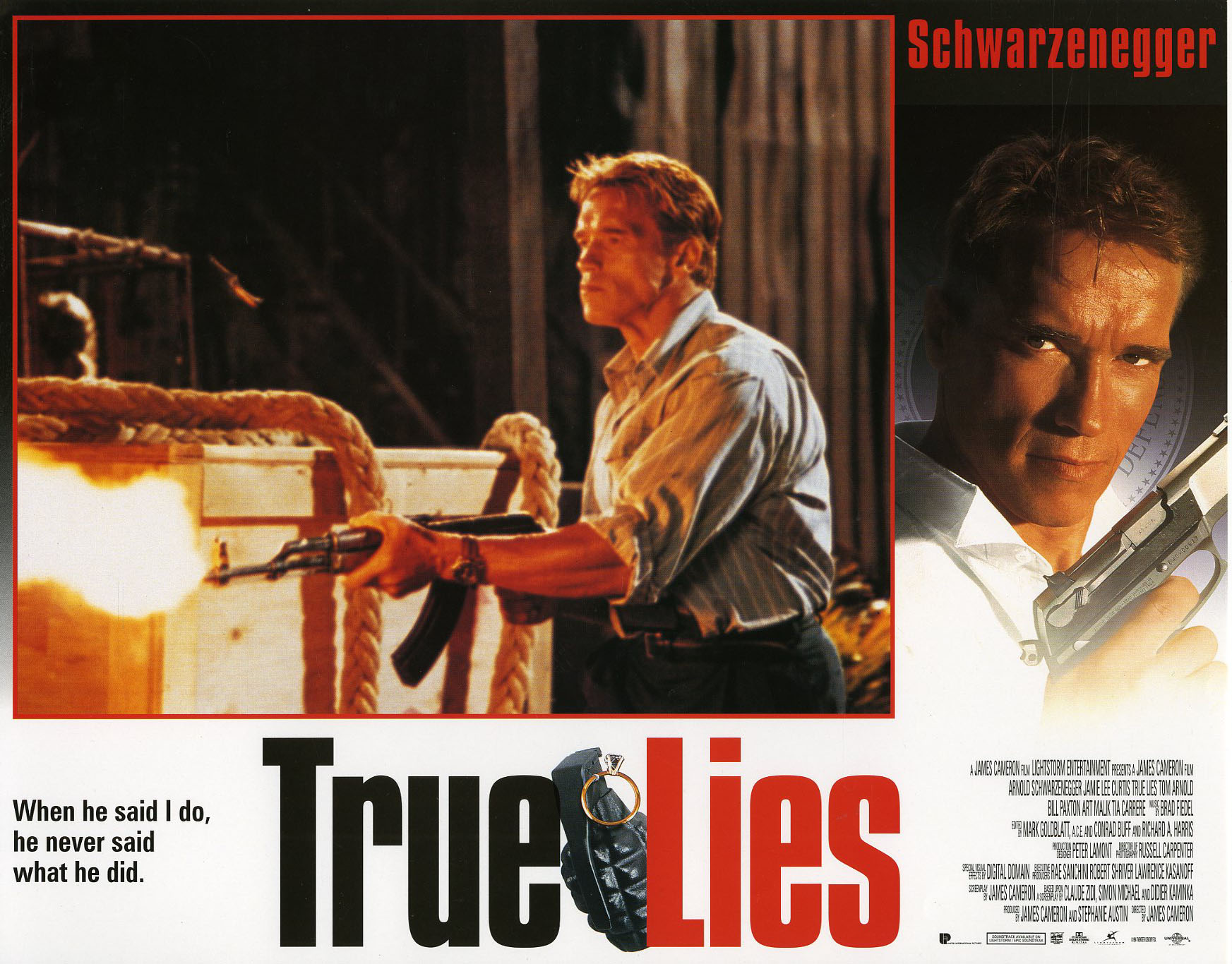 Movie Review True Lies 1994 Bored And Dangerous
