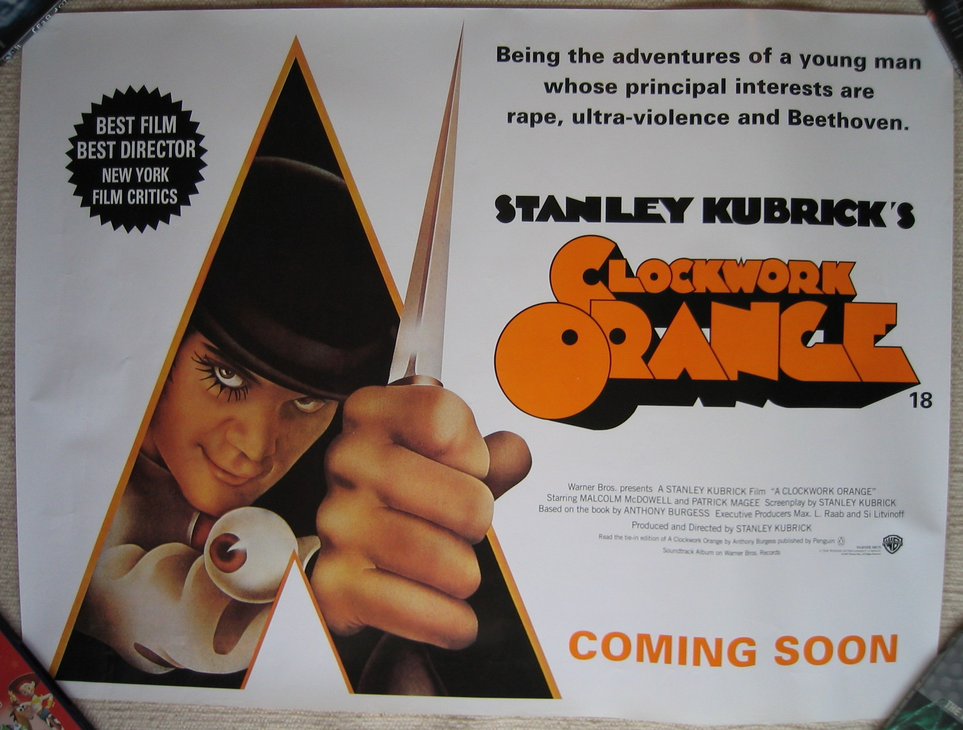 A clockwork orange film analysis essay