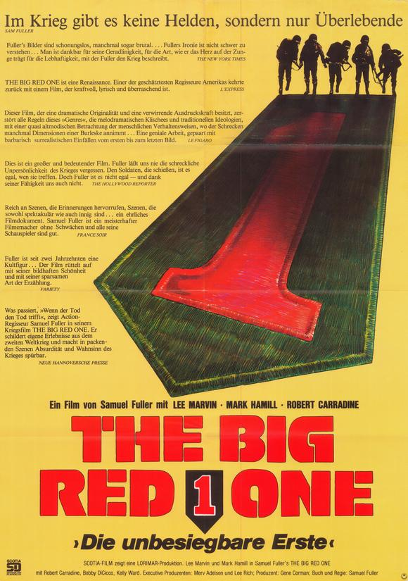 The big red one Lee Marvin vintage movie poster