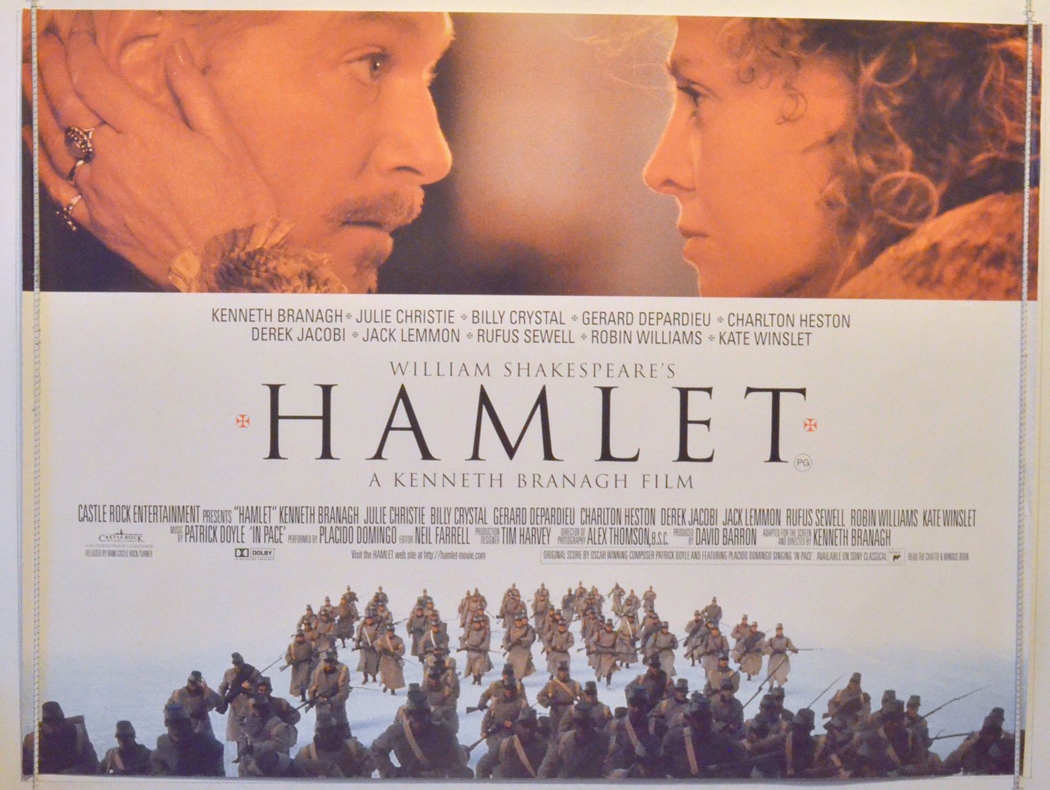a recommendation for the movie version of hamlet Franco zeffirelli directs his third shakespeare adaptation (after romeo and juliet and otello) with this film version of the tragedy +hamlet the titular prince of denmark (mel gibson), returns home to his family's castle of elsinore after years of attending school in germany to find out his father has died and his uncle claudius (alan bates) is the.