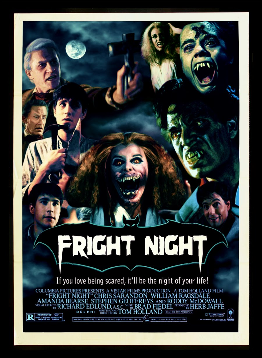 Halloween Fright Nights Recensie.Movie Review Halloween Week Fright Night 1985