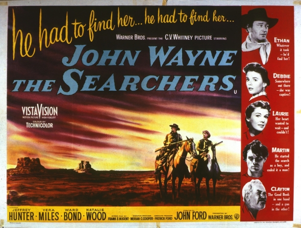 Movie Review Afi Weekend 12 The Searchers 1956