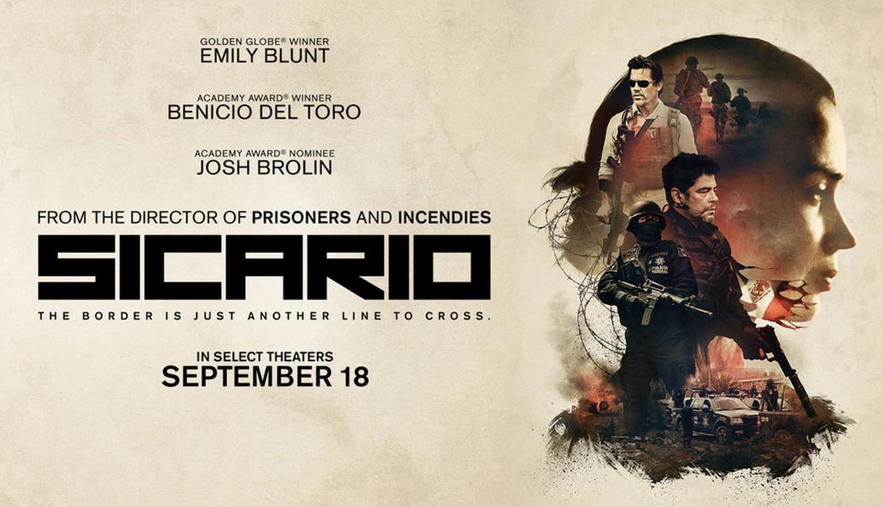 2015 Recap Movie Review Sicario 2015 Bored