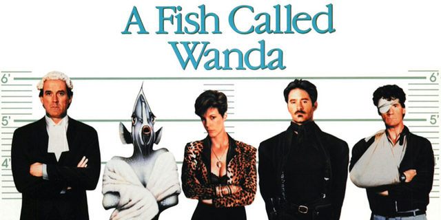 Movie review a fish called wanda 1988 bored and for Fish call review