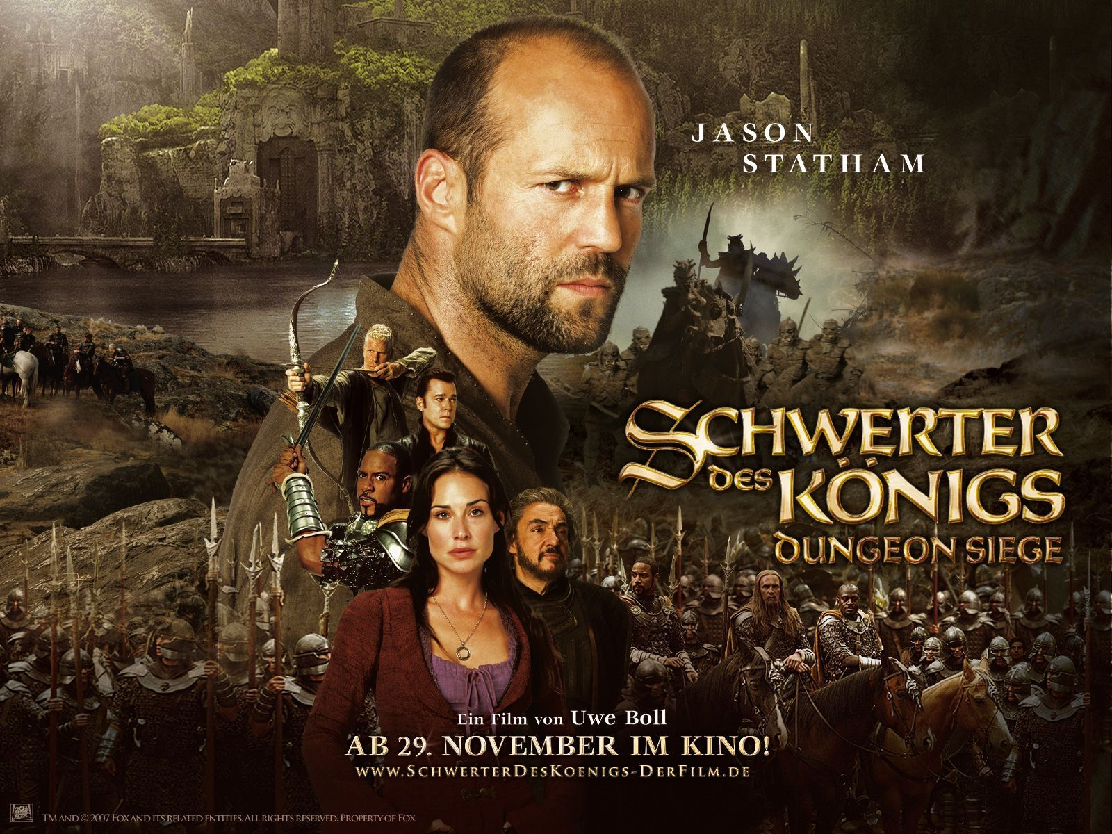 Movie Review In The Name Of The King A Dungeon Siege Tale 2007