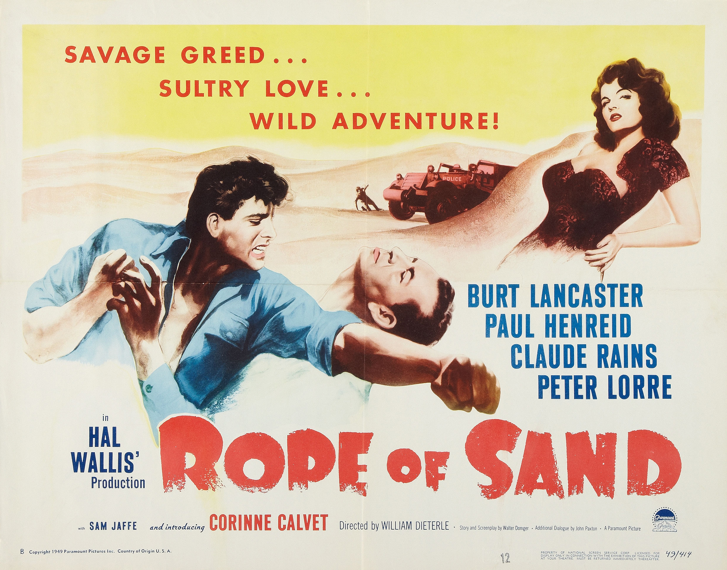 A Rope Of Sand